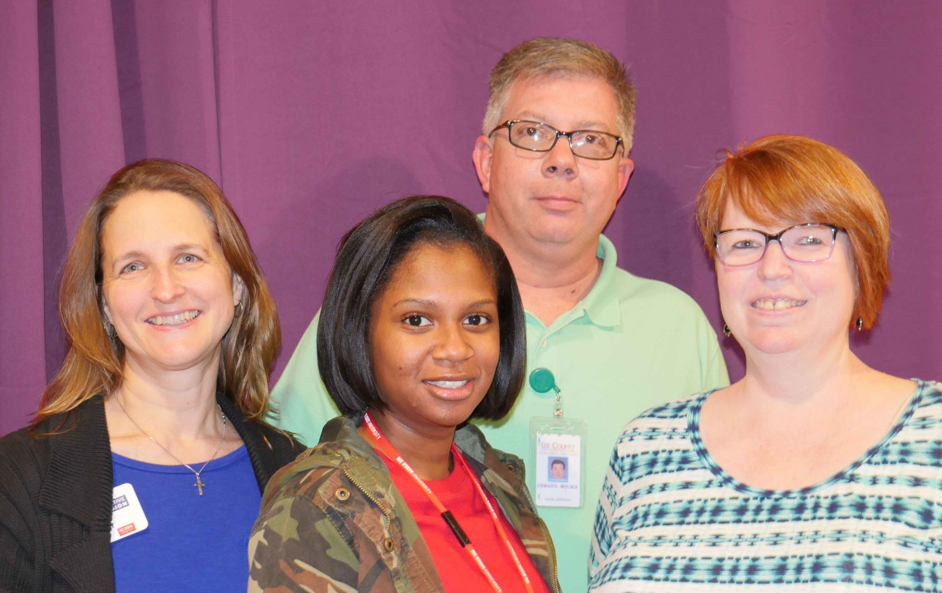 Lee County staff group
