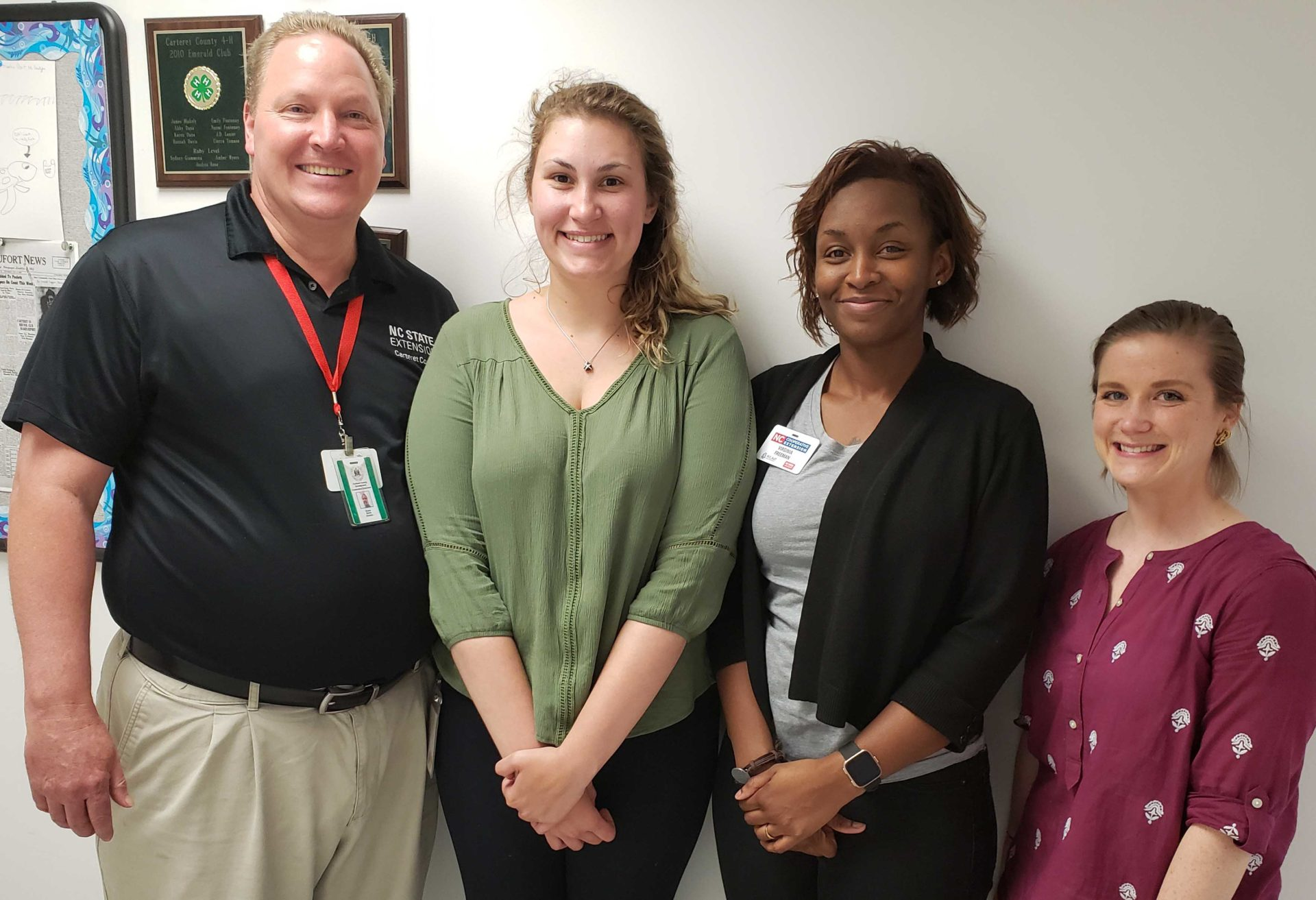 Carteret County staff group