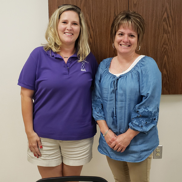 Parent session guest speakers Vanessa Sapp and Cindy Patane