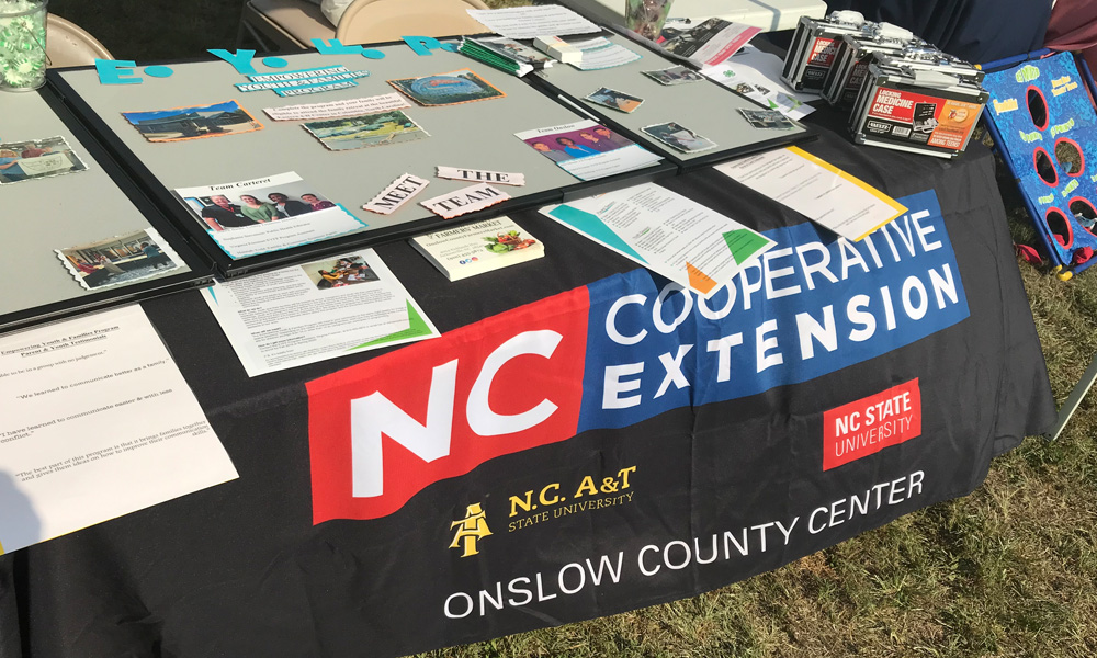 NC Cooperative Extension Table
