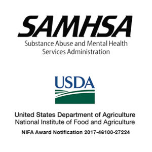 Funders - SAMHSA and USDA