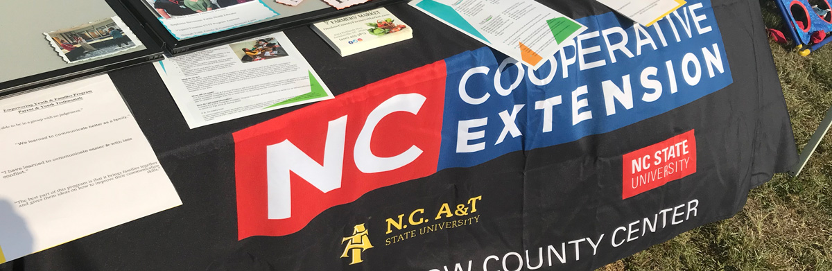 NC Cooperative Extension tablecloth