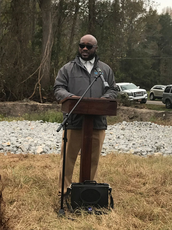 Thomas Gillespie, Director, Nash County Parks and Recreation