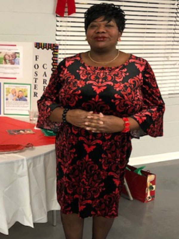 Ms. Annie Murphy, Adoption and Foster Home Licensing Social Worker for Pender County Dept of Social Services is a member of the Resiliency Task Force.