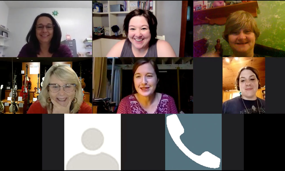 Screen Shot from our PEWG Meeting